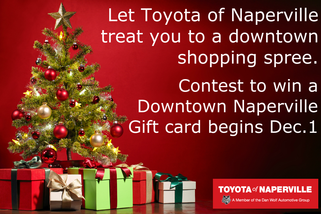 Downtown Naperville gift cards